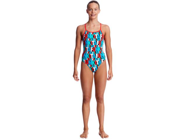 Funkita Diamond Back One Piece Svømmedragt Børn farverig | swim_clothes